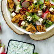 Griekse Gyros Kip Salade