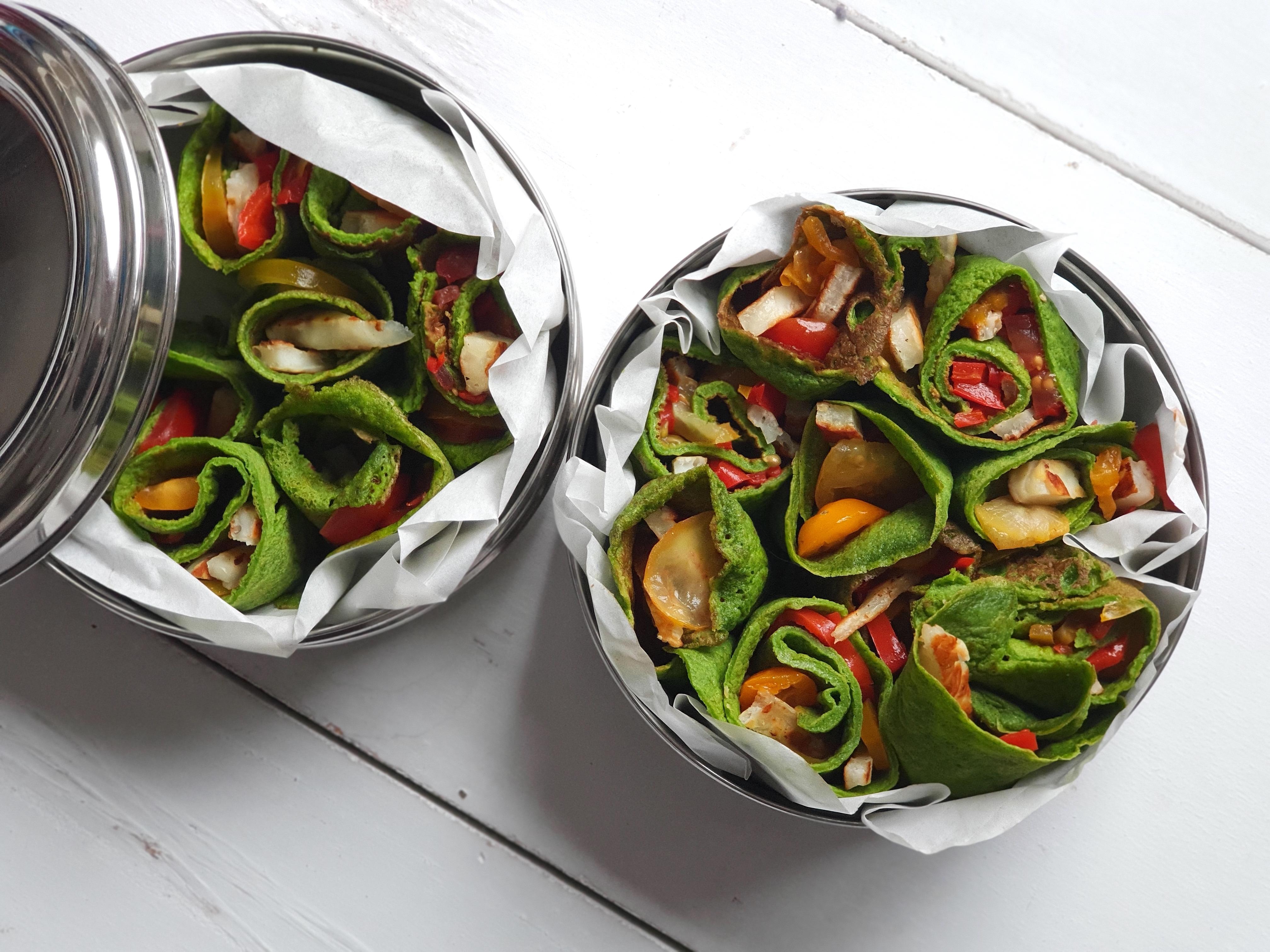 spinaziepannenkoek online diëtist