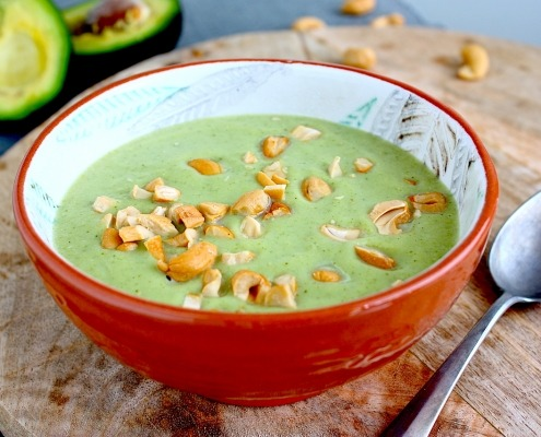 broccolisoep met avocado en cashewnoten online diëtist