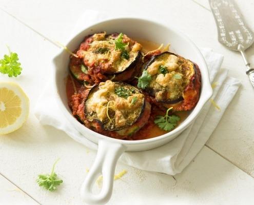 parmigiana van aubergine, courgette en citroen online diëtist