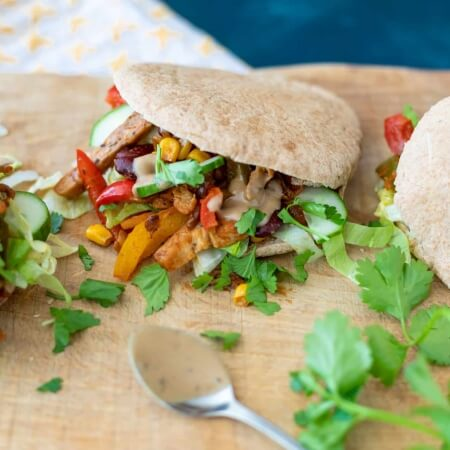 vegan broodje gyros - Jonathan Klaassen online diëtist