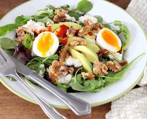 6 x salades die écht voedzaam zijn online diëtist
