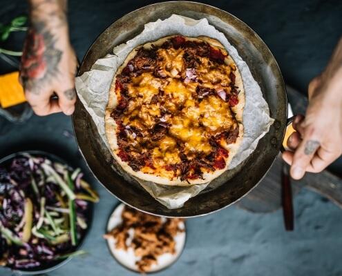 4 x gezonde pizza's online diëtist